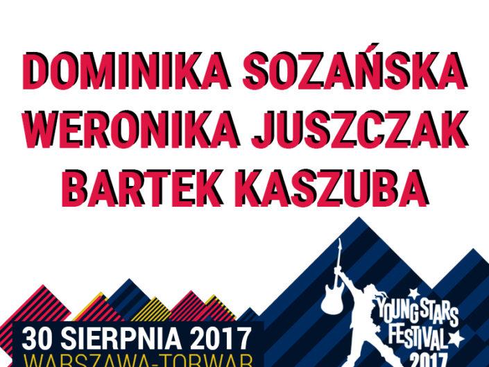 DOMINIKA SOZANSKA, WERONIKA JUSZCZAK, BARTEK KASZUBA